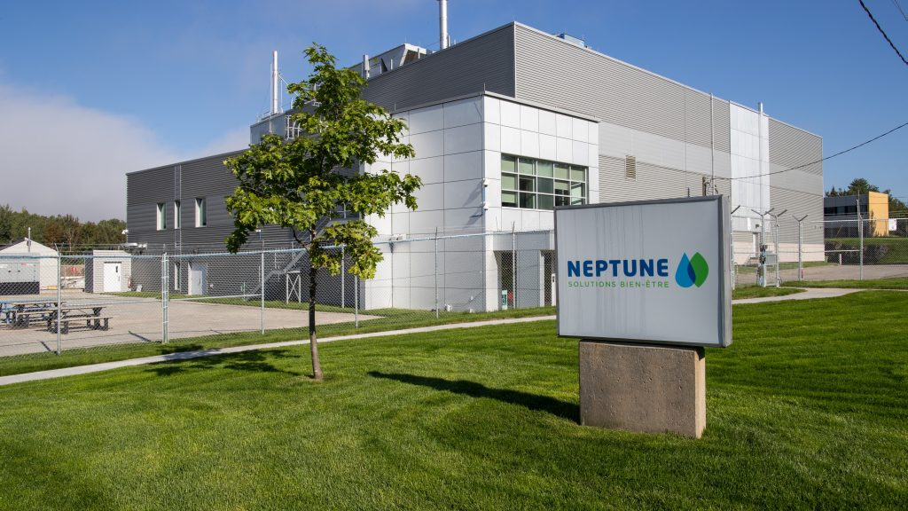 Neptune Wellness Solutions has a processing facility located in Sherbrooke, Que. (Credit: Neptune Wellness Solutions)