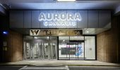 Aurora Cannabis storefront in West Edmonton Mall. (Photo: Aurora Cannabis Inc.)