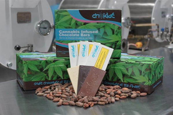 Choklat Inc. announced its new line of infused products on Jan. 14 after receiving its processing licence from Health Canada. (Photo credit: Choklat Inc. via Instagram)